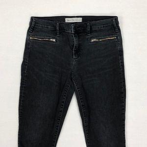 GAP True Skinny Black Ankle Jeans